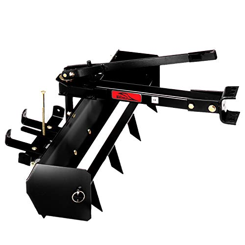 Brinley Co Brinly BS-38BH Sleeve Hitch Tow Behind Box S...